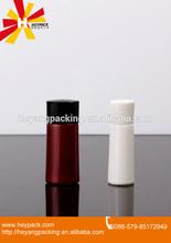 Empty plastic sample bottle for lotion