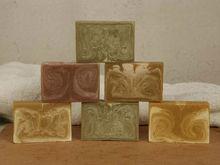 Natural shea butter oil Repair scars vegetation soap bar