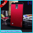ebay wholesales fancy custom Motomo brushed metal plastic cell phone covers for samsung galaxy s5
