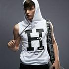 sleeveless shirt hood