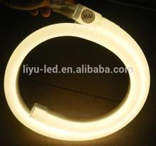 Shanghai liyu,warm white pvc material neon flex led light for home & house decor,#LY-WH-240V-EWW