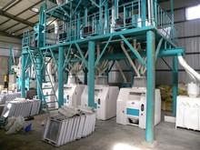 100T/24H Maize/Corn Flour Mill Complete Plant