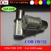 S25 high power led 1156 P21w car led tail light