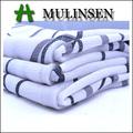 mulinsen بيبل جورجيت النسيج المنسوجة البوليستر المطبوعة النسيج اللباس ماكسي