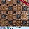 ML858 wholesale philippines backsplash red medallion mosaic tiles