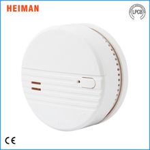 9V battery operated stand alone conventional smoke detector fire alarm HM-623PS with test button