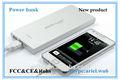 Conveniente 12000 mAh mais recente modelo de telefone móvel para Samsung / Iphone e todos os smartphones