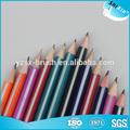 Crianças colorido eco friendly conjunto de lápis de cor