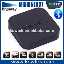 MINIX NEO X7 Mini Quad Core Cortex A9 WiFi HDMI 1080p 3D XBMC TV Box