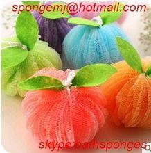 high tech China factory bath massage sponge plastic dish scrubber