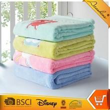 kids' summer fancy yarn chunky plaid velvet throw blanket