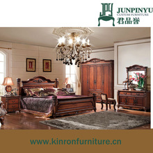 American Style Royal Antique Bedroom Furniture set for sale