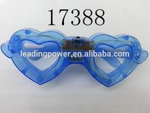 glow glasses led glasses light up glasses with heart shape17388