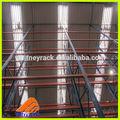 Almacén de acero rack, trasiegos el almacenamiento y estanterías, ajustable sistema de estanterías