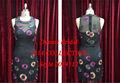 Precio de coste! Moda sexy negro de gasa de envío gratis vestido de la madre por la noche/partido/vestido formal 2014 china