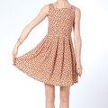 2014 para mujer ocasional lindo vestido de verano de ropa, Vestidos ocasionales para los niños