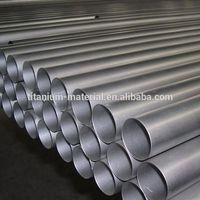 manufacturer rolled and annealed grade 5 titanium pipe for various titanium pipe price