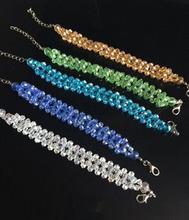 2014 New Vintage Glass Beaded Bracelet