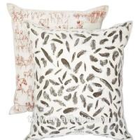 leopard print cushion