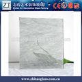 venda quente de vidro manchado folha padrão polido com fios de vidro