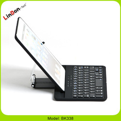 Wireless Bluetooth Magnetic Keyboard Case Cover Stand For Ipad Mini Foldable