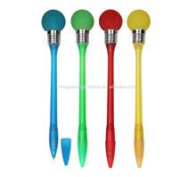 Bulb shape ball pen