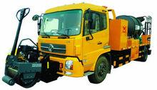 Asphalt mixture recycling vehicle