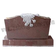 carve flower in headstones