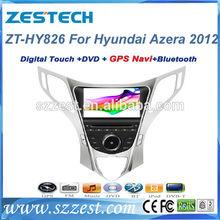 "ZESTECH Dvd radio Gps player bluetooth 8"" car dvd for Hyundai Azera 2012 car dvd with gps"