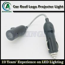 auto LED shadow light Car roof logo projector light