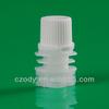 plastic factory resealable plastic pour spout cap