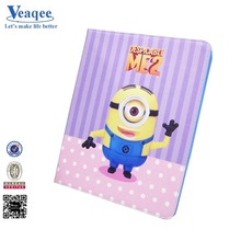 Despicable me minions 2 tpu cover case for ipad mini 2