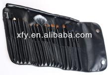 HOT New 21 PCS Makeup Artist Brush Set Rollup Bag- Black/Makeup Brush