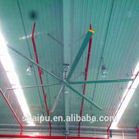 20ft Industrial HVLS Fan in workshop