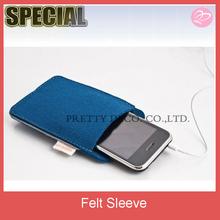 felt mobile phone bag , felt phone sleeve from China manufacturer
