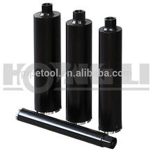 "High frequency /laswer weld 1 1/4 ""-7unc diamond core drill bits"