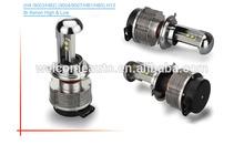 202014 New design 100% plug and play 20w 2400lm auto cree LED headlights