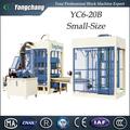 Quanzhou top10 hess alemão tecnologia yc6-20b tijolo máquina hidráulica