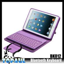 for ipad mini case cover ,mini wireless keyboard for ipad,wilreless bluetooth keyboard case for ipad mini pc