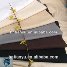 Wholesale Canvas Dyed Woven Cotton Plain Fabric White Khaki Blue