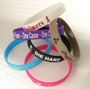 the customer design cheaper silicone wristband ,silicone band