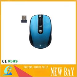 Wholesale- Standard USB 2.4G Wireless Optical Fashion Mouse