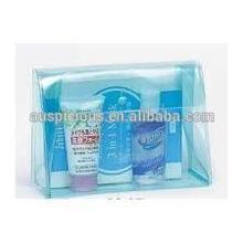 Popular Translucent Soft PVC/EVA Cosmetic Bag With Snap