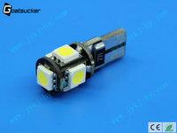 t10 canbus led 5SMD 5050 LED Car Bulb Canbus 12v 24v