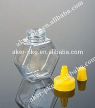 480g,280g Empty Polygon honey food bottle and jar