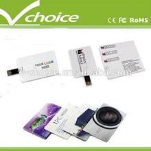 hot sale top quality credit card usb storage