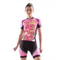 monton 2014 dulce de ciclismo jersey de color rosa de diseño de verano