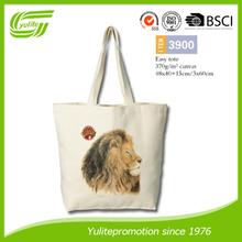 Personalized popular chevron cotton tote bag