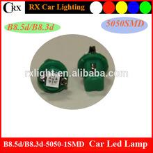 B8.3 1 5050smd led car led lamp dashboard LED bulb instrument LED light