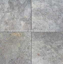 Silver travertine pavers wholesaler price